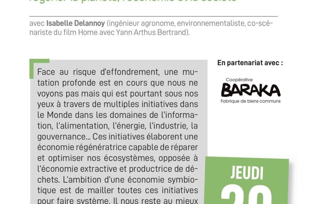 Compte-Rendu Cours du Soir : Isabelle DELANNOY – L'Economie Symbiotique, régénérer la planète, l'économie et la société