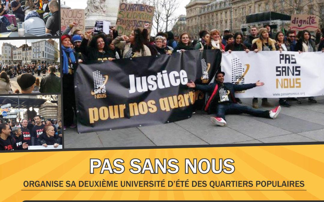 Pas Sans Nous : Justice pour les Quartiers Populaires